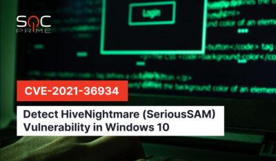 HiveNightmare (CVE-2021-36934) detection