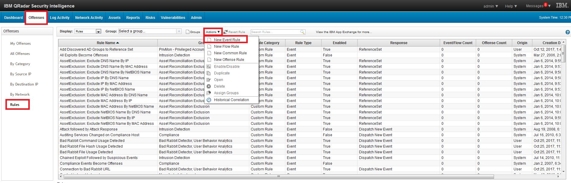 Creating Rules in IBM QRadar - SOC Prime