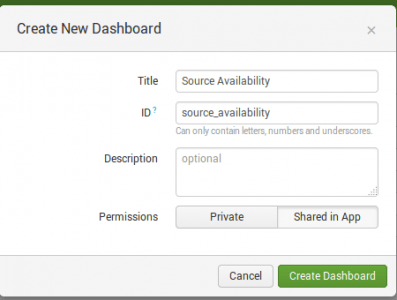 Creating a simple dashboard that monitors accessibility of