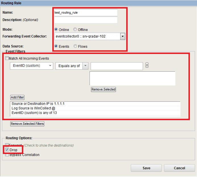 Event Filtering in IBM QRadar - SOC Prime