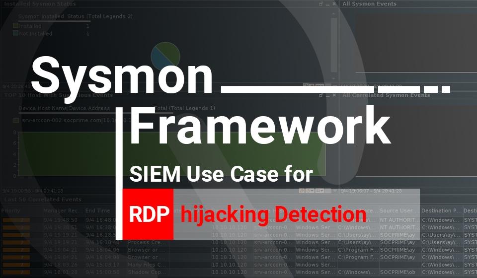Detection of RDP Hijacking - SOC Prime